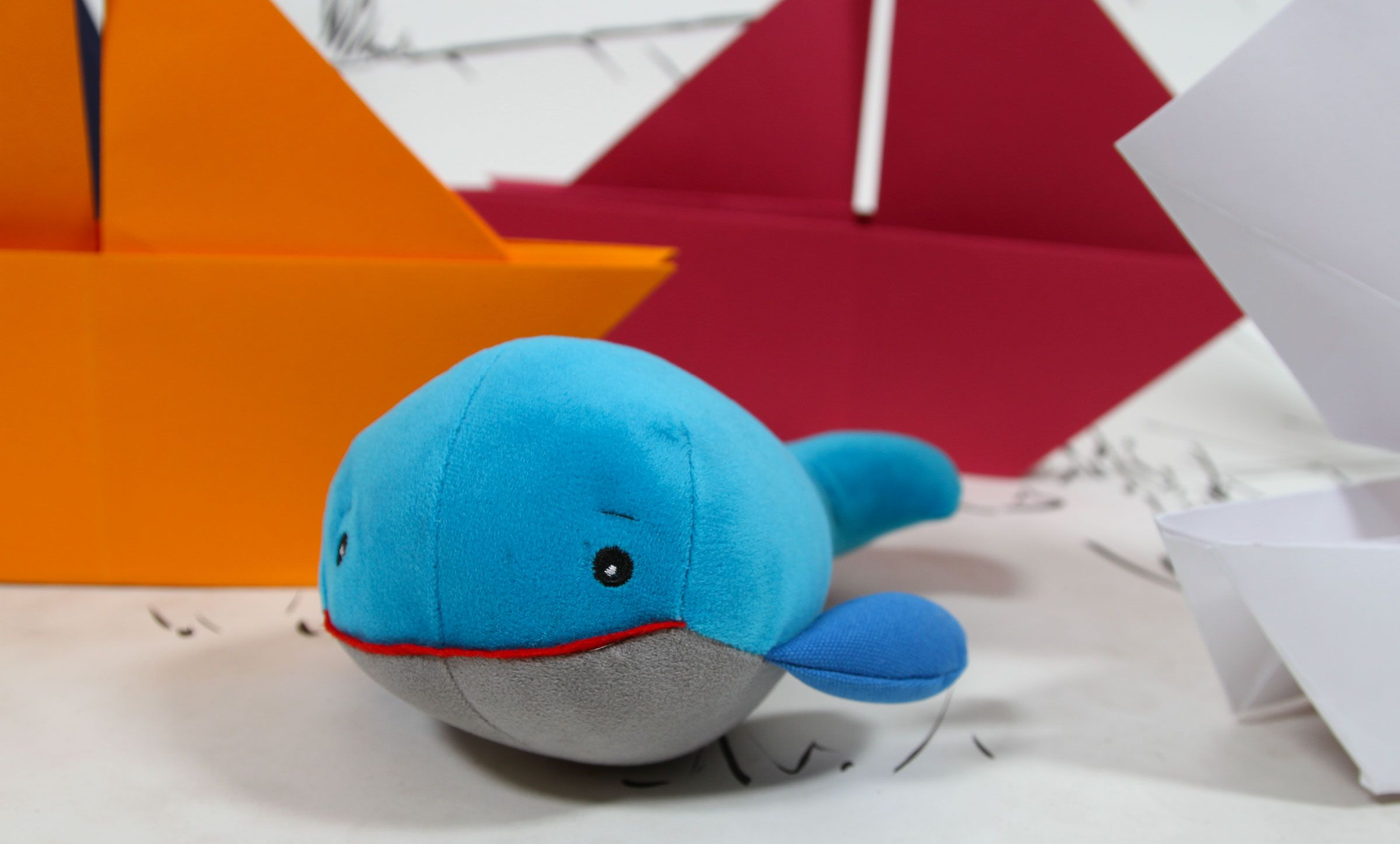 Borris Prince of Whales Sensory friendly chew safe plush