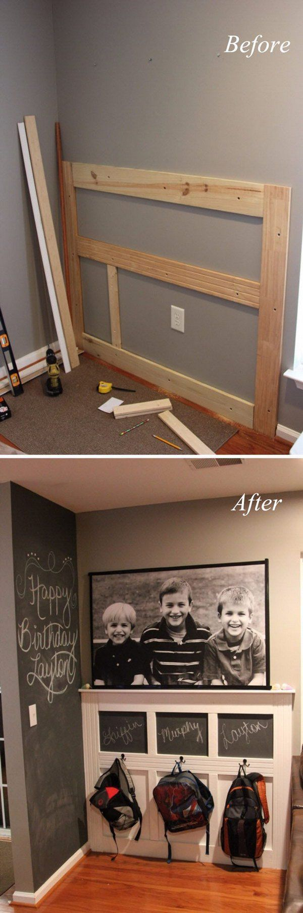Diy Backpack Wall More For The Home Home Decor Home
