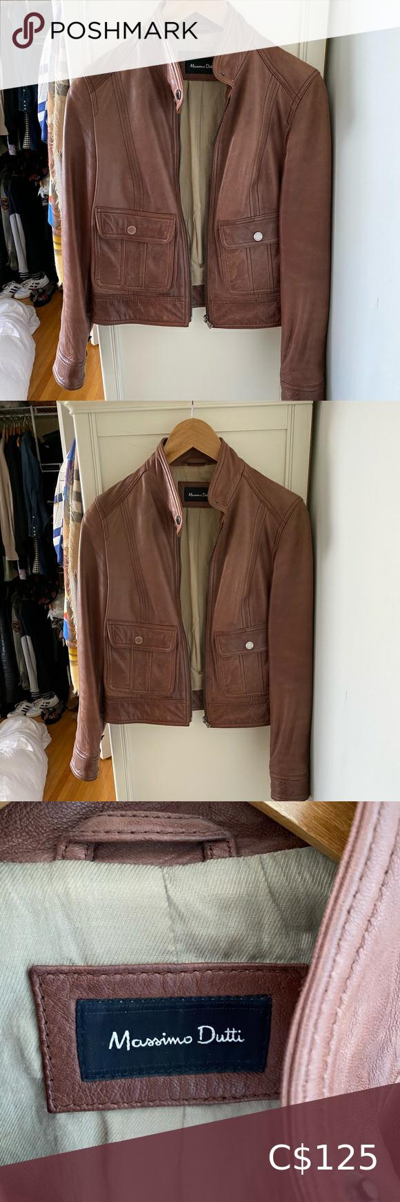 Massimo Dutti Leather Jacket Leather Jackets Women Jackets Leather Jacket