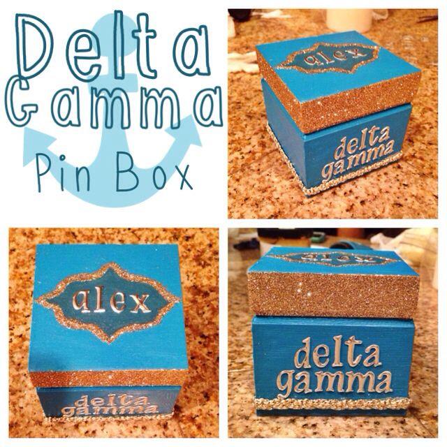 Delta Gamma Pin Box