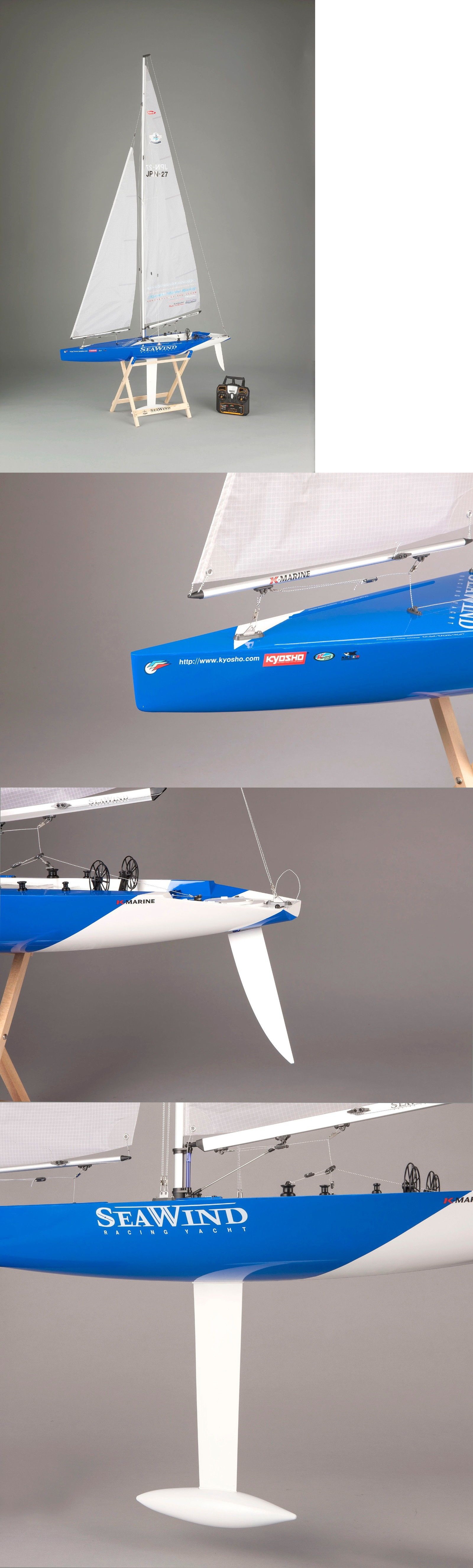 Boats and Watercraft 87480: Kyosho Seawind Ready-To-Sail 1-Meter Rc