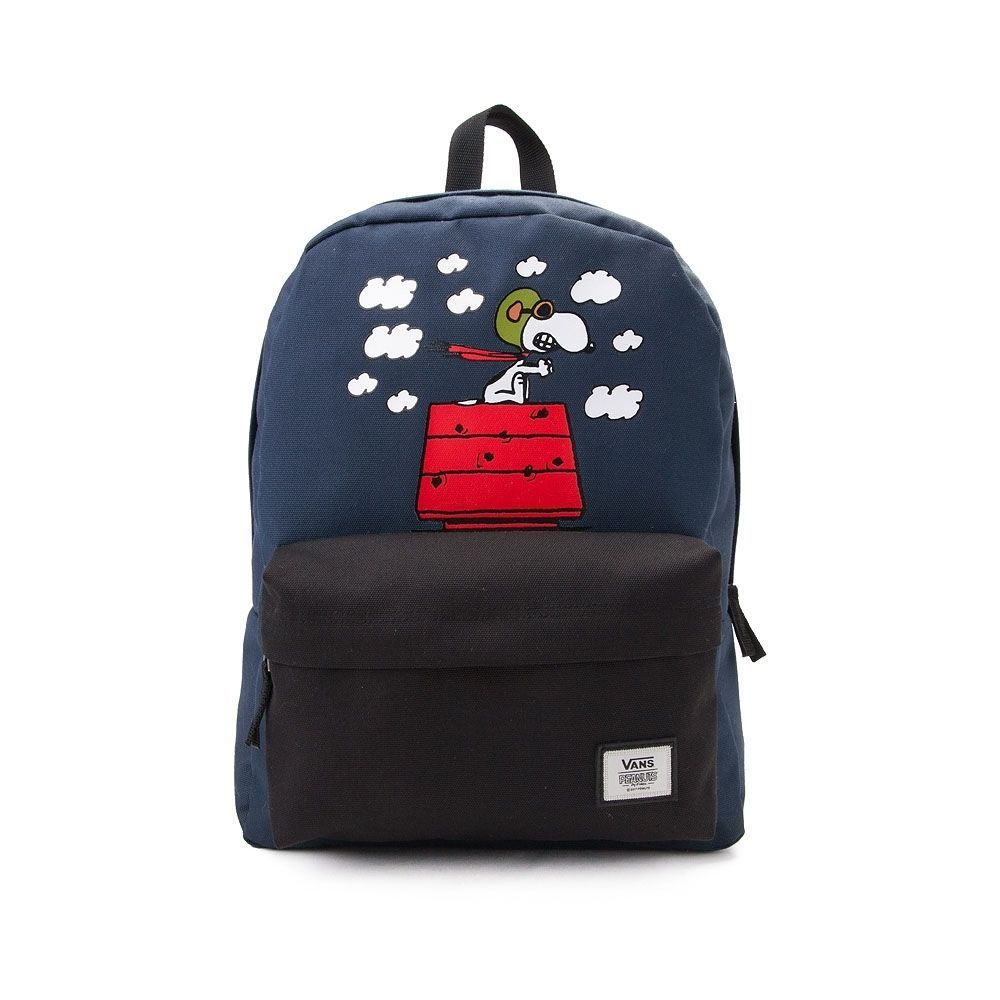 da88a1551b3 Vans Snoopy Red Baron Backpack - Navy - 35852
