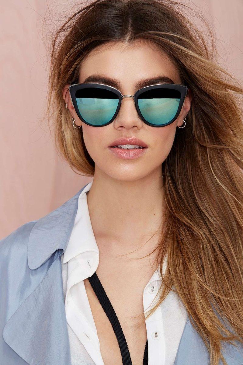 c5735a550f The Model wears Quay My Girl Cateye Sunglasses 2016 Lookbook