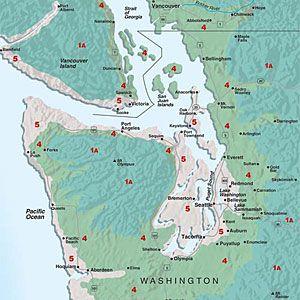 Sunset climate zones: Western Washington | Western ...