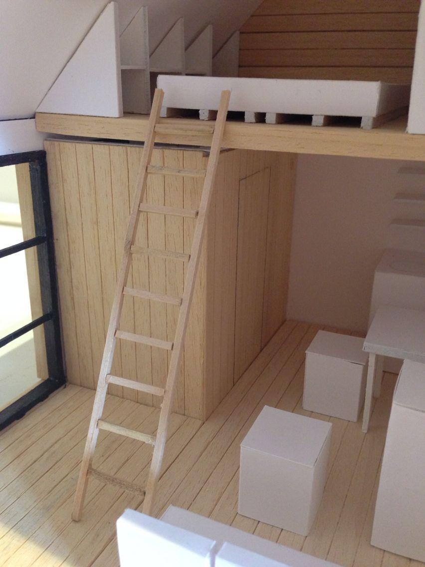 Maquette little house by Laura Claes - Klas 1A bouwen, wonen en ...