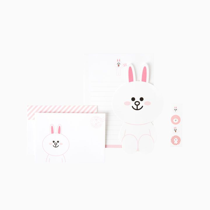FRIENDS Character Letter Paper Set CONY Official Goods - letter of character