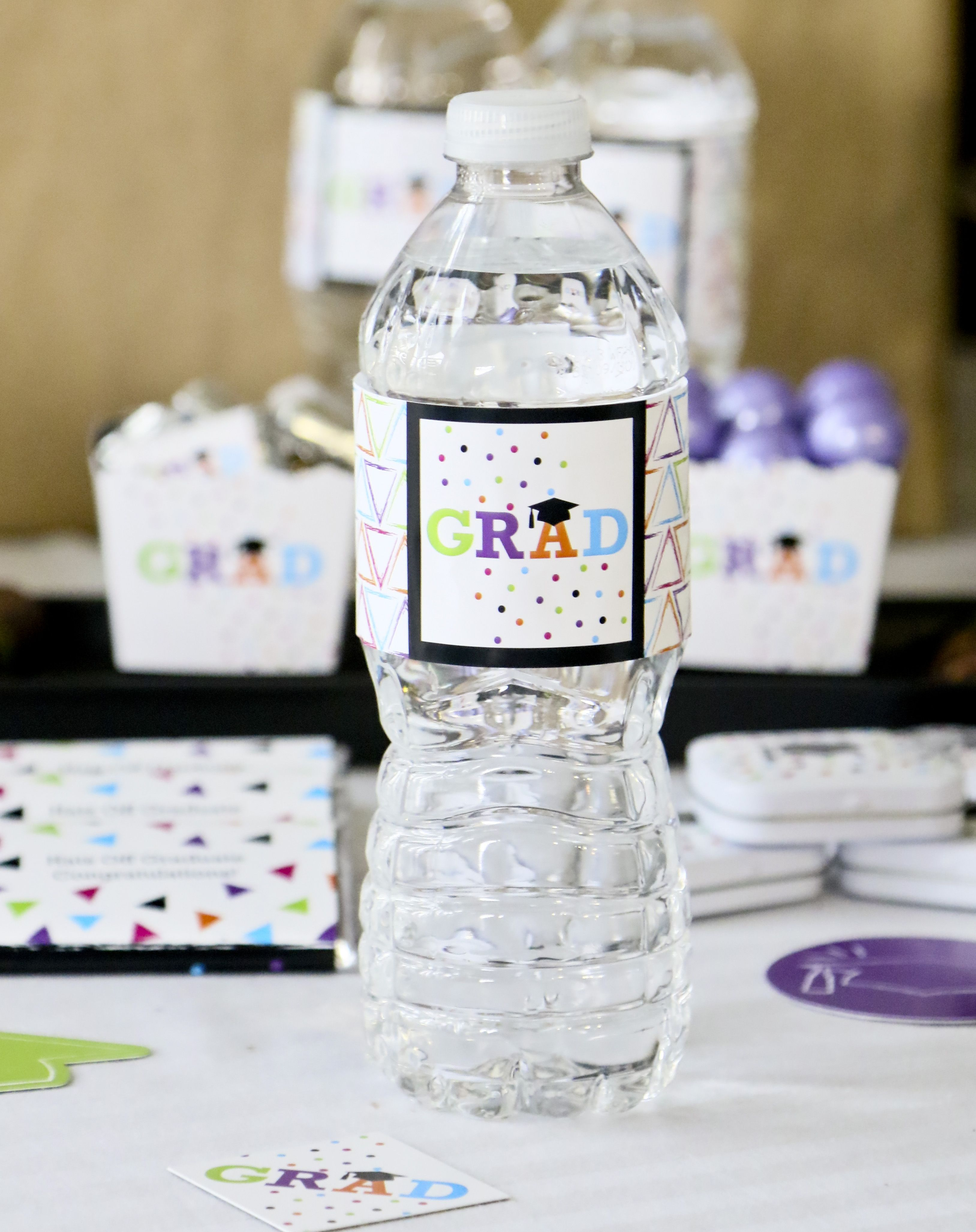 Water Bottle Labels Are An Easy Way To Coordinate All Of