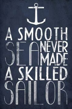 A skilled sailor
