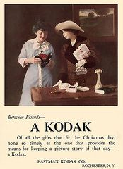 Vintage Ads Art - Between Friends. Circa 1915. by Unknown Photographer