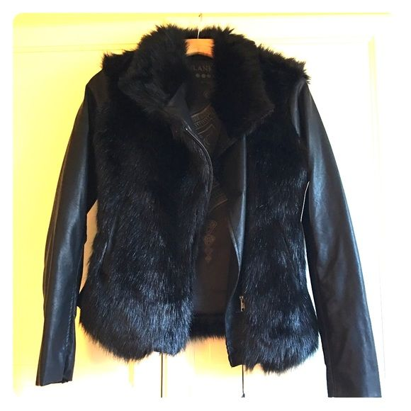 997729a8db5 BLANKNYC Shaggy Faux Fur Jacket in Lie Brand new never worn really ...