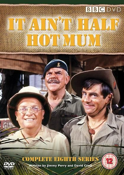 Don Estelle Windsor Davis And Melvyn Hayes In It Ain T Half Hot Mum Uk Tv Celebrities Famous Geminis