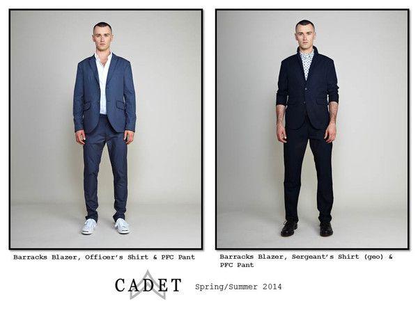 Definitivamente necesitamos más diseñadores de ropa de hombre en Chile.... CADET: Menswear & Clothing - Made in Brooklyn, USA