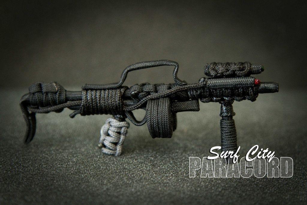 mg 95 paracord assault rifle paracord pinterest assault rifle
