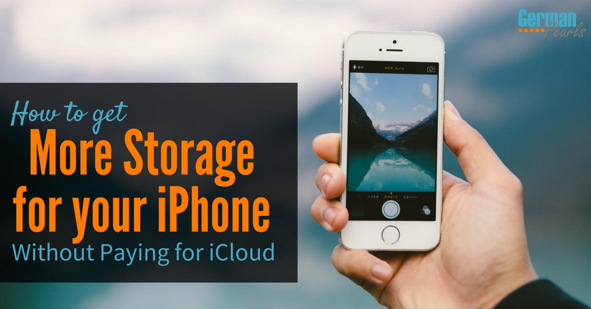 How to buy more storage for your iPhone or iPad (without using iCloud or having monthly payments). The complete guide to the Sandisk iXpand flash drive.