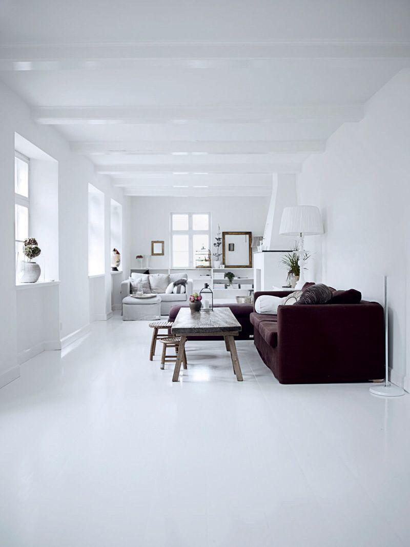 Everything white floor by colota floor resinfloor pouredfloor castfloor screed interior interiordesign homedecor homedesign housedecor