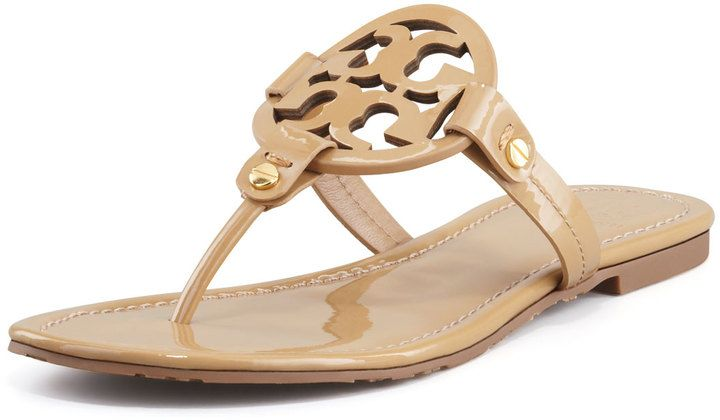 5a439c59e690 Tory Burch Tory Burch Miller Patent Logo Sandals - THE BEST!