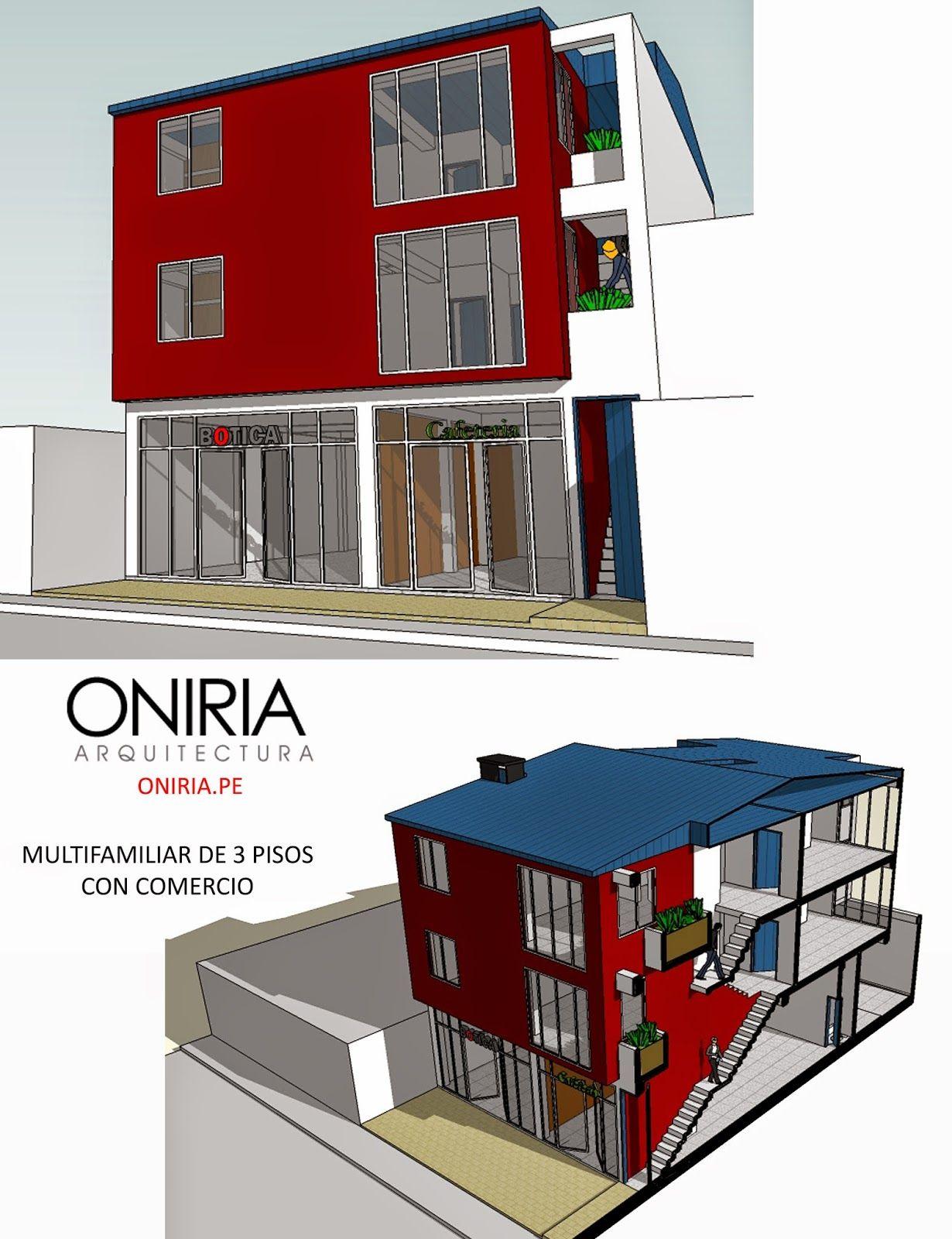 Oniria dise o de viviendas multifamiliares oniria arquitectura pinterest dise o de - Disenos de viviendas ...