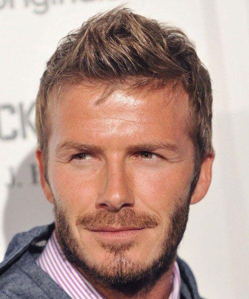 25 David Beckham Hairstyles Faux Hawk
