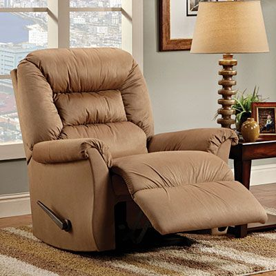 renegade mocha rocker recliner at big lots home decor recliner chair ottoman chair. Black Bedroom Furniture Sets. Home Design Ideas
