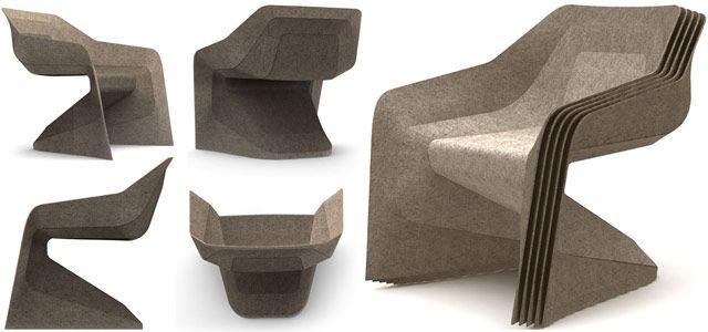 Hemp Chair By Werner Aisslinger   BASF
