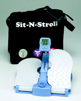 The Sit-N-Stroll® Deluxe Portable Foot Exerciser: Product Review