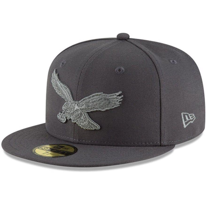 Mens new era graphite philadelphia eagles alternate logo