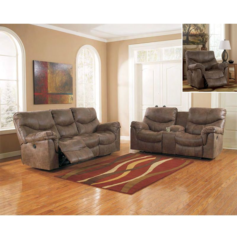 Signature Design Alzena 71400 3 Pc Reclining Living Room