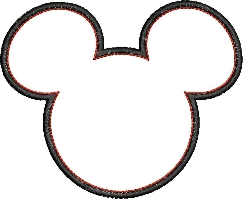 Mickey Head Template Disney Wreath Pinterest
