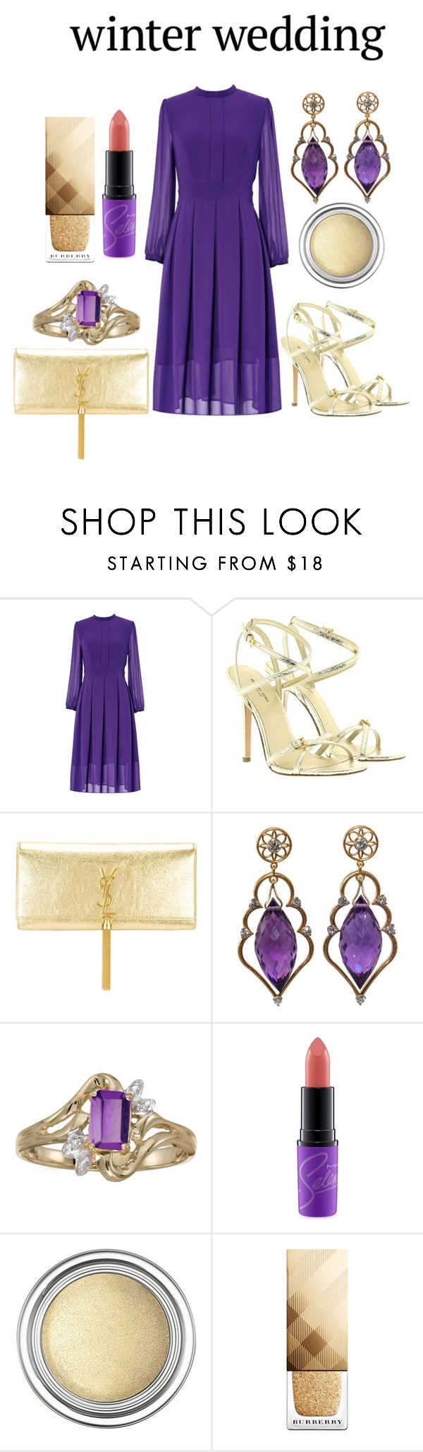 """The Wedding Fun!!!"" by mrudula-26 ❤ liked on Polyvore featuring Michael Kors, Yves Saint Laurent, Wayne Smith Jewels, BillyTheTree, MAC Cosmetics, Christian Dior and Burberry"
