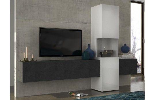 Meuble Tv Mural Design Serena Meuble Tv Pinterest
