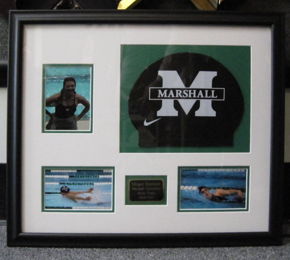 Jersey In A Shadow Box Frames