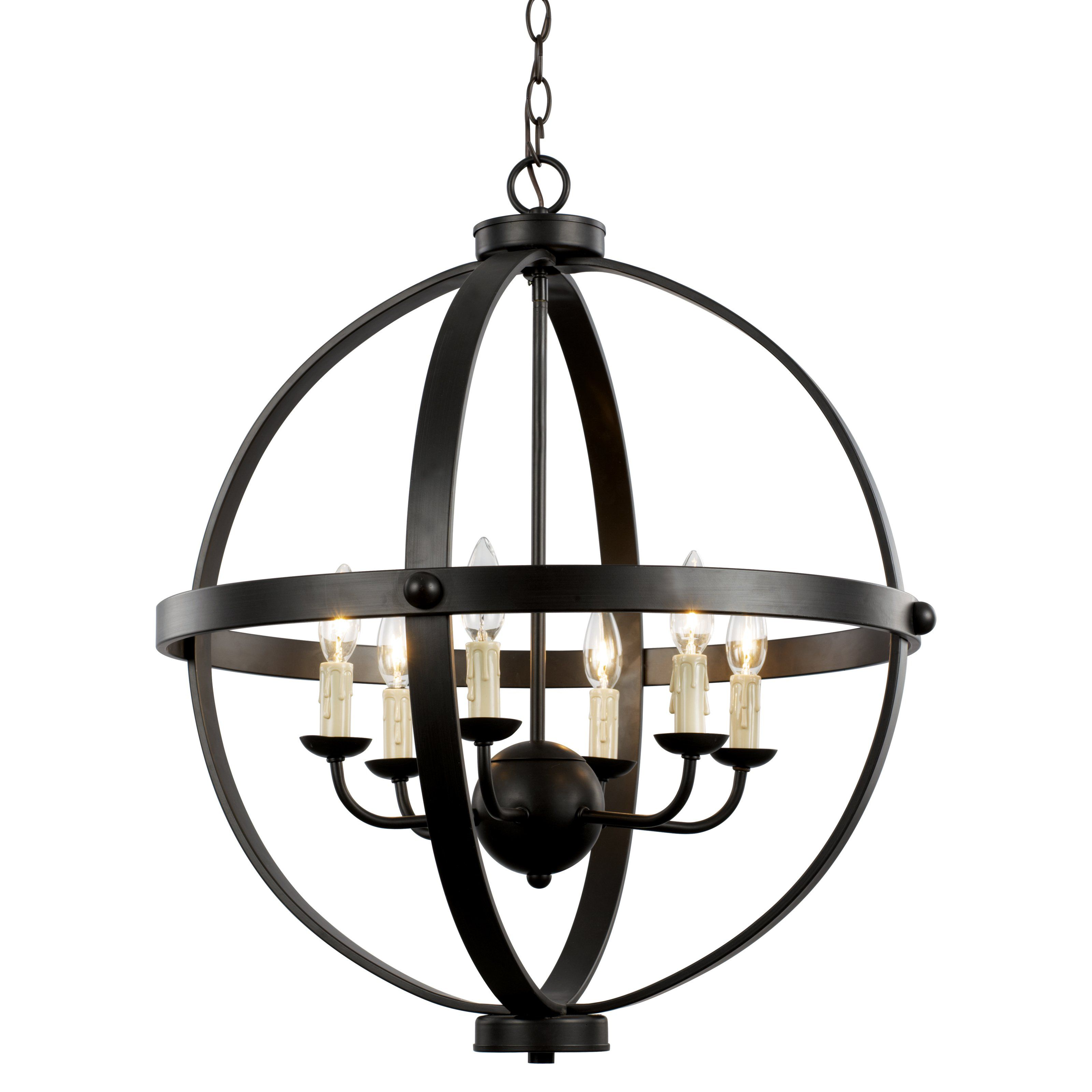 Trans Globe Lighting 70596 Rob Old World Sphere Chandelier 416 Hayneedle