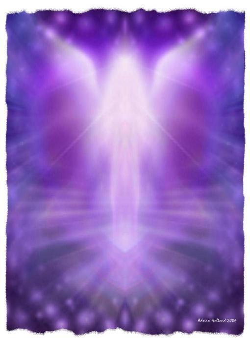 Archangel Zadkiel | Angels | Angel, Angel art, Archangel ...