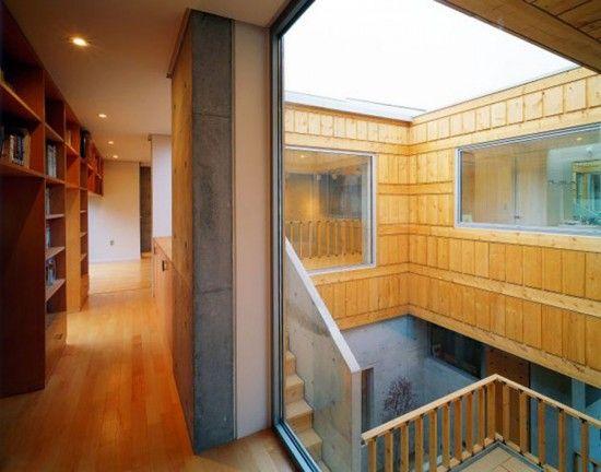 Fusion Modern Traditional Korean House Wood Floor Fusion
