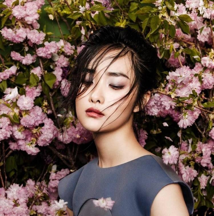 comment bien se maquiller: idée yeux asiatiques