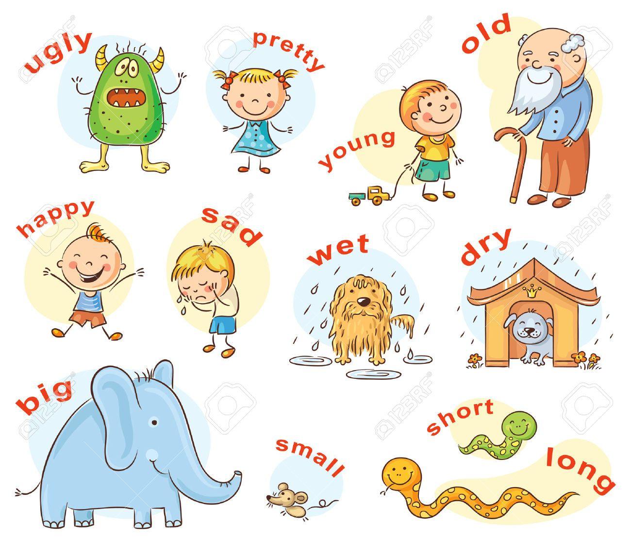 Resultado De Imagen Para Comparative Adjectives Dibujos