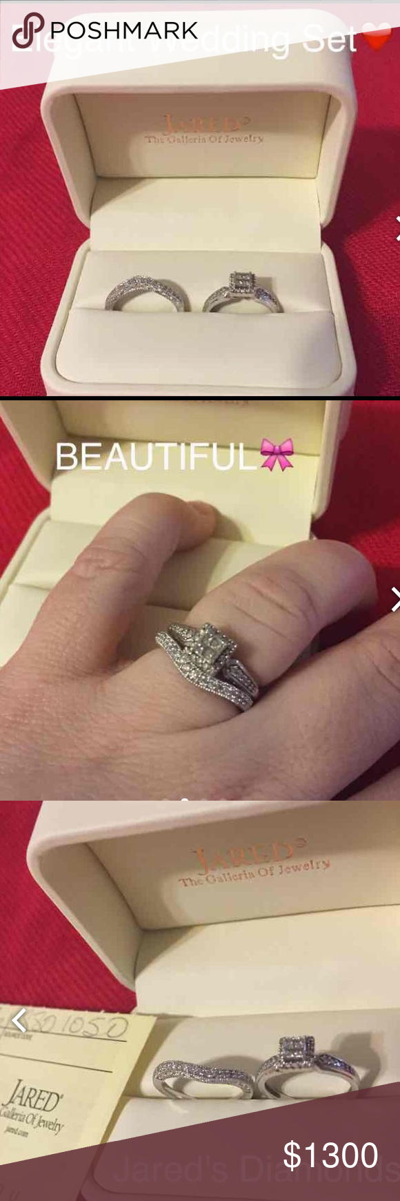 Engagement Wedding Set Jared S Engagement Wedding Set Engagement Wedding Ring Sets Jared Jewelry
