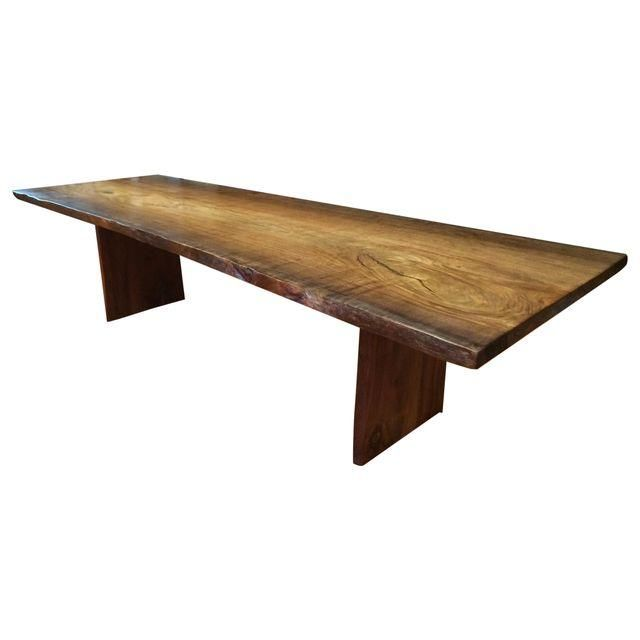 Image Of 10ft Kumbuk Seamless Custom Dining Table Custom Dining
