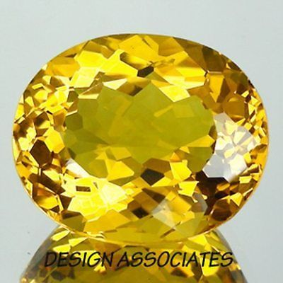 Beryl 110789: Golden Beryl Oval Cut Outstanding Color 3.10 Carats 10X8 Mm BUY IT NOW ONLY: $30.99