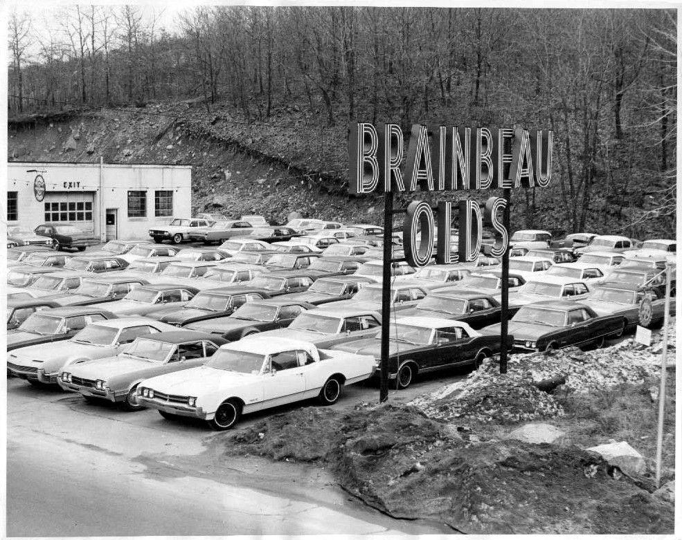 1966 Brainbeau Oldsmobile Dealership Braintree Massachusetts Car Dealership Oldsmobile Dealership