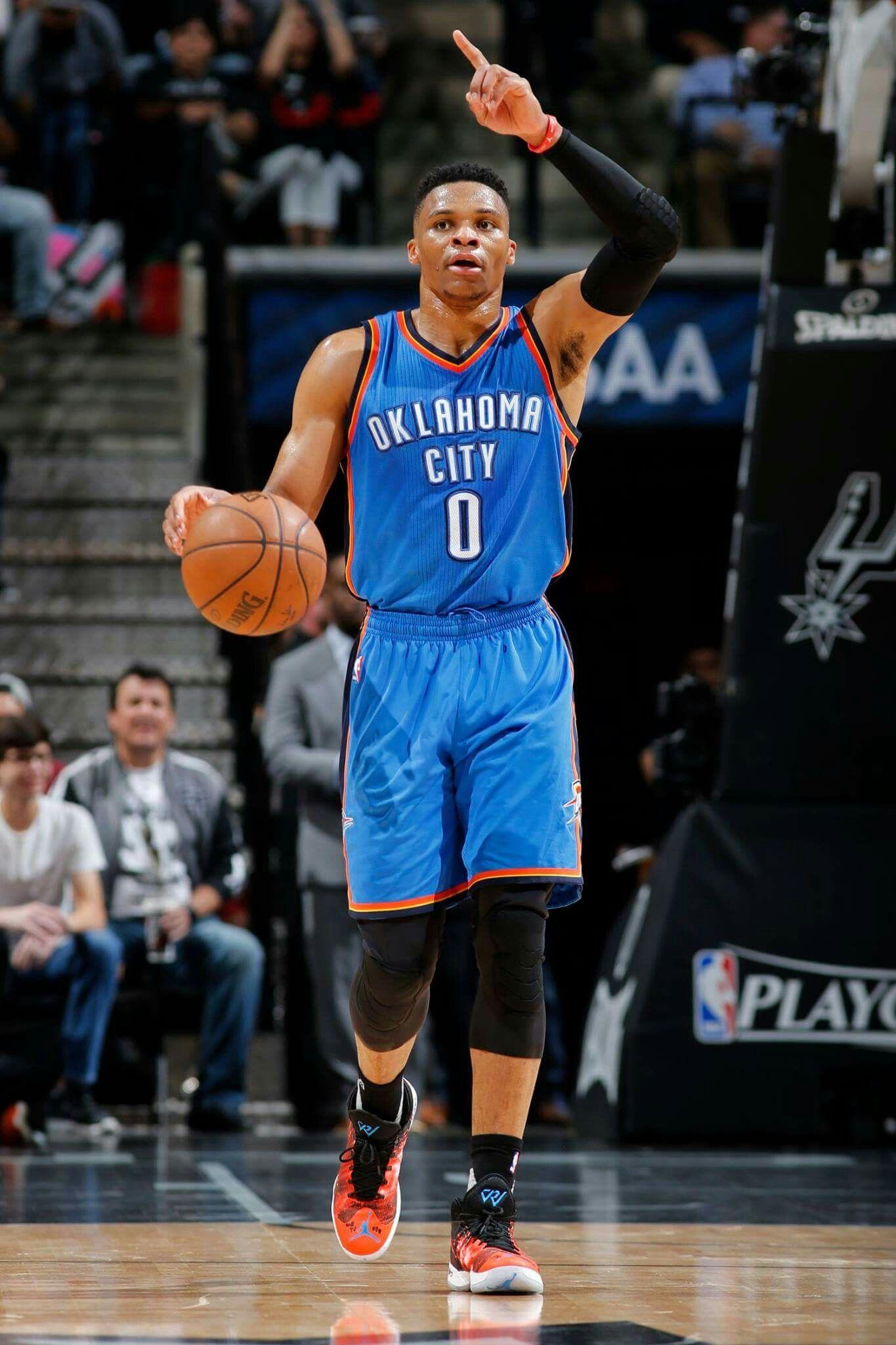Russell Westbrook Okc thunder basketball, Nba players