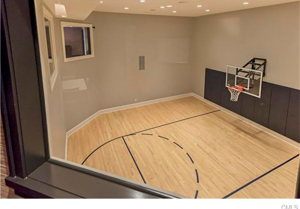 Ridgefield Home For Sale Basketball Court Flooring Home Basketball Court Indoor Basketball