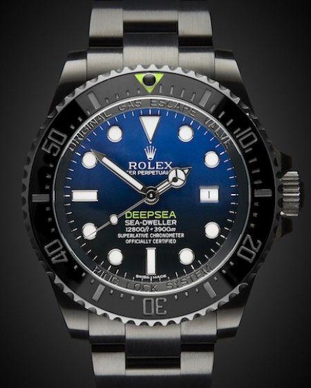 9ee86beec1f Rolex Sea Dweller Deepsea D-Blue Dial Ref 116660