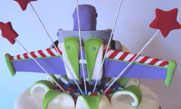 Buzz Lightyear Cake - Back