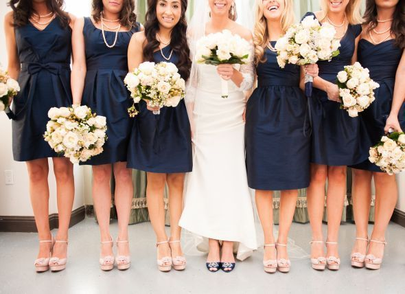 Image result for champagne wedding dress navy heels for What shoes to wear with navy dress for wedding