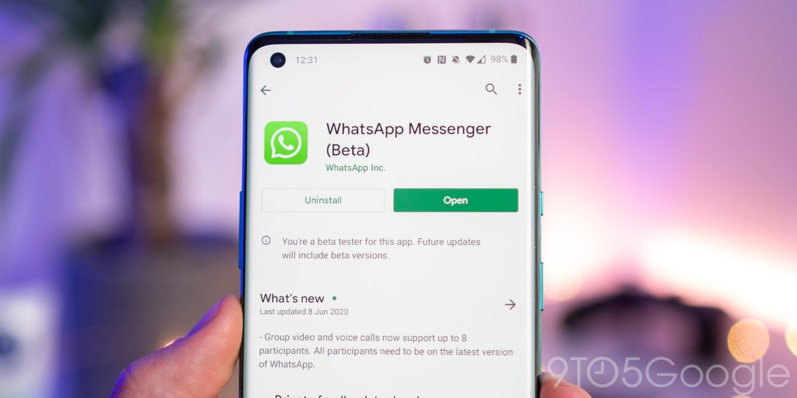 Update More Info Whatsapp Begins Testing Multi Device Logins Improved Search Chat Clearing More In 2020 Messaging App Instant Messaging Supportive