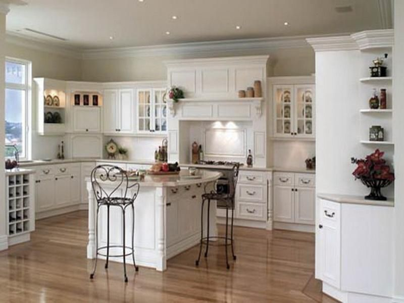 White Country Kitchen Cabinets small french country kitchens | small country white kitchen