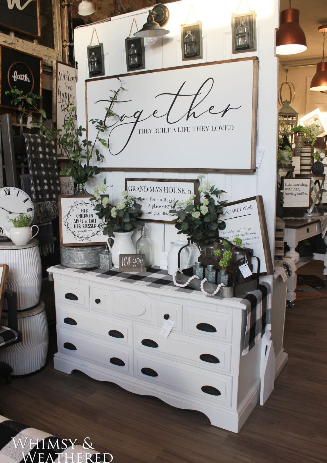 Modern farmhouse decor by Whimsy and Weathered | Small ...