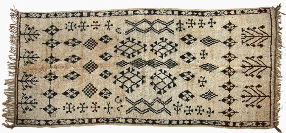 Saddle Bag, Morocco, Middle Atlas Berber, Zaiane tribe ...  |Berber Tribe Fabric