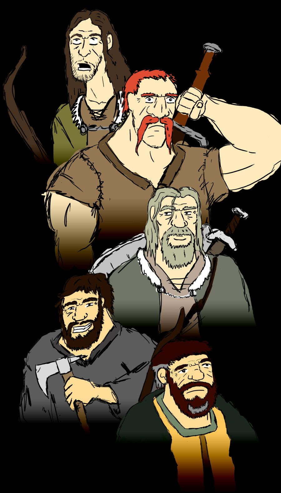 Northmen  Rough By ~johnplaystuba On Deviantart